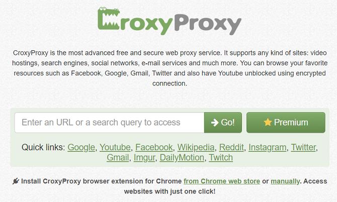 croxyproxy